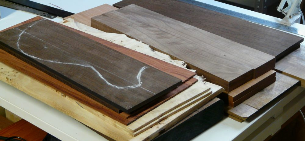 Some body woods for guitars and basses