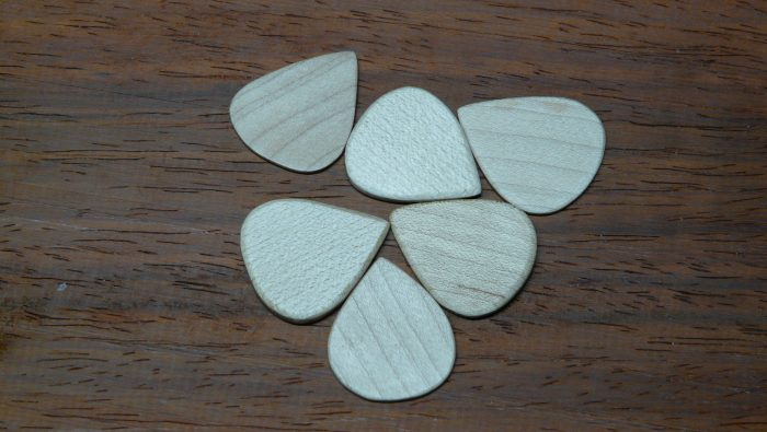 handcrafted maple picks