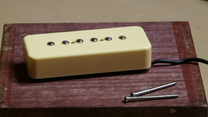 Hand wound P90 guitar pickup