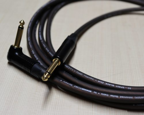 Guitar lead Black Zilk