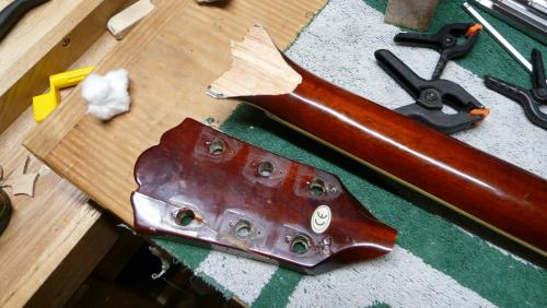 headstock repair